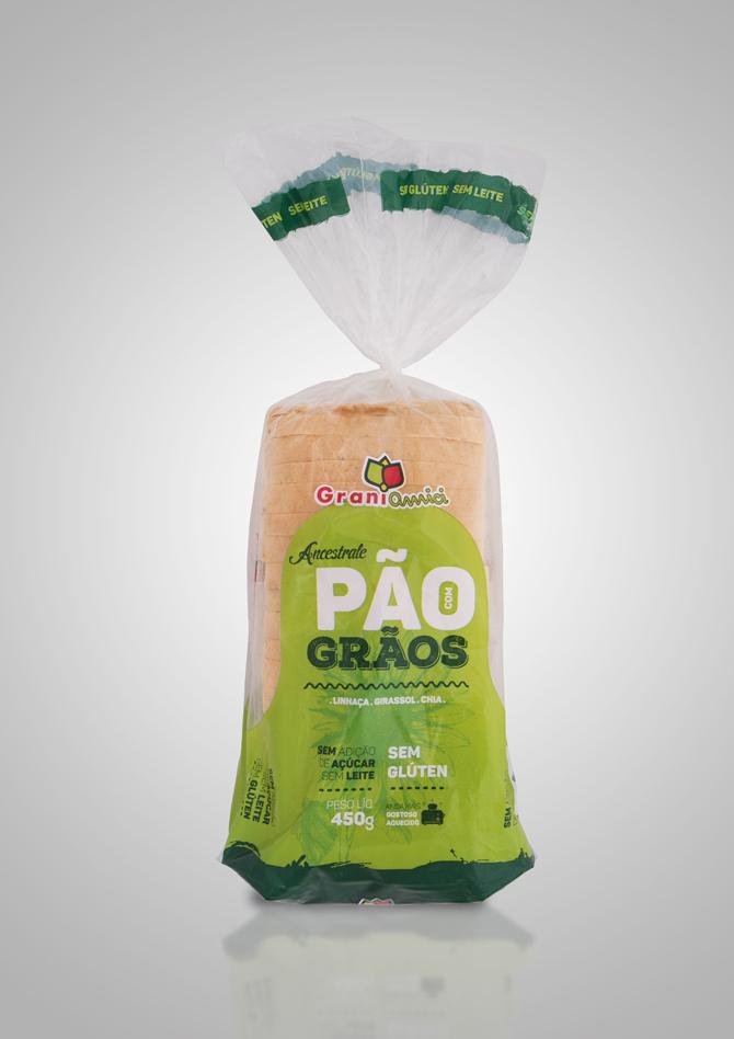 Linha Ancestrale – Pão com Grãos com Batata Doce