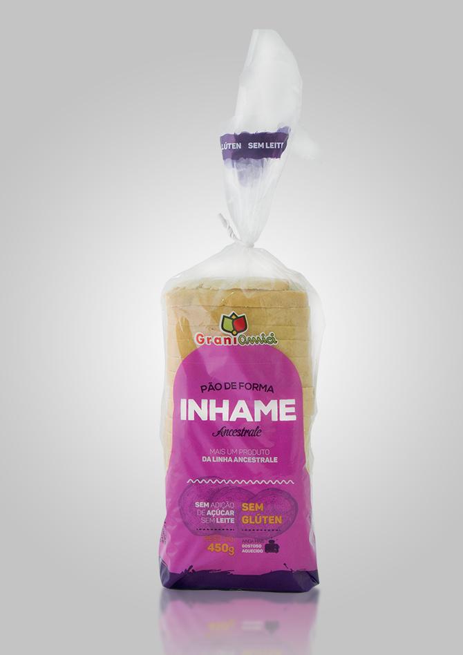 Pão de Forma com Inhame